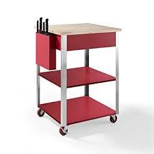crosley furniture kitchen cart amazon com crosley furniture culinary prep rolling kitchen cart