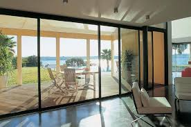 Big Sliding Windows Decorating Decorating Awesome Sliding Glass Patio Doors Ideas With Aluminum