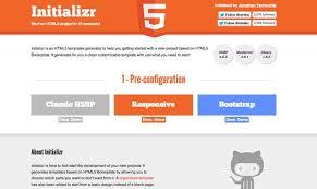 html5 initializer website inspiration pinterest