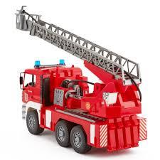 bruder fire truck wóz strażacki z drabiną bruder 02771 światło dźwię zabawki różne