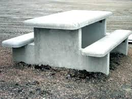 cement table and bench concrete tables and benches concrete table and benches concrete