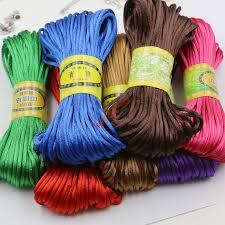rattail cord aliexpress buy 10yard soft satin rattail silk macrame cord