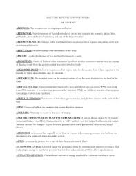 Anatomy And Physiology Glossary Chapter 1