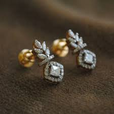 diamond earrings india 355 best jewellery images on indian jewelry indian