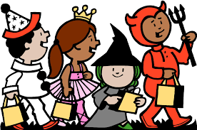 haloween clipart halloween clipart trick or treaters downloadclipart org