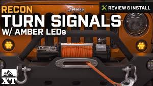 yellow jeep on beach jeep wrangler recon turn signals with amber leds 2007 2016 jk