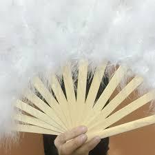 bamboo fan online shop hot sale turkey feathers fans wholesale