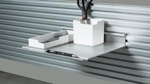 wall shelves design inovative slat wall shelving design slatwall