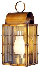 Nautical Wall Sconce Newport Harbor Wall Sconce Nautical Copper Lantern Outdoor Light