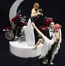 harley davidson wedding cake toppers wedding cake topper w harley davidson motorcycle electra