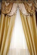 Valance And Curtains Gold Curtains Drapes And Valances Ebay