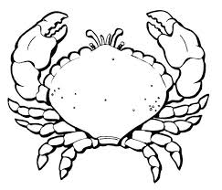 Crab Coloring Pages Exclusive Inspiration Crab Coloring Pages Page Crab Coloring Page