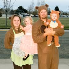our halloween costumes goldilocks u0026 the three bears and