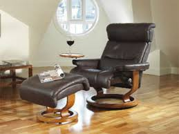 Recliner Chair With Ottoman Ekornes Stressless Memphis Savannah Recliner Chair Lounger With
