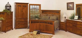 American Bedroom Furniture by Home Furniture Store American Craftsman Slatted Bedroom Set With