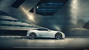 white lexus 2018 2018 lexus lc white color side view macbook window wallpaper