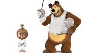 masha bear wcg mascots
