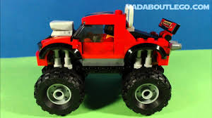 monster truck videos on youtube lego monster truck transporter 60027 youtube