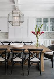 Los Angeles Farmhouse Dining Table Room Transitional With Coffered - Dining room tables los angeles