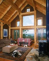 circle of friends black mountain north carolina timber frame cabin