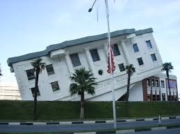 the white restaurant in batumi the building s design is based on the building s design is based on the u s white house