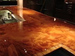Epoxy Countertop Epoxy Resin Commercial Grade Wood Bartop U0026 Tabletop Sealer Top