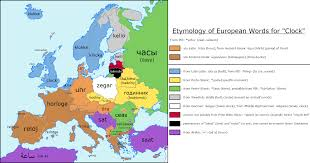 Map Of Europe Test by Maps Mania The Interactive European Etymology Map