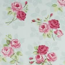 Duck Egg Blue Floral Curtains Nostalgic Prints Fabric Collection Clarke And Clarke Curtains