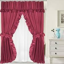 Burgandy Shower Curtain Burgundy Shower Curtain Sets Wayfair