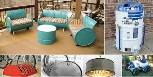 home project ideas 55 gallon metal drum project ideas home design garden