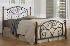 Wood And Iron Bed Frames Buy Doral Wood Iron Bed Doral Wood Iron Bed Sale The