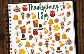 free thanksgiving i spy printable kleinworth u0026 co