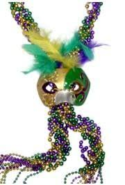 fancy mardi gras fancy mardi gras with mask fluer de lis and crown medallions