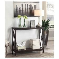 convenience concepts oxford console table oxford console table espresso espresso convenience concepts target