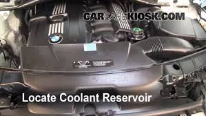 coolant for bmw 3 series how to add coolant bmw x3 2004 2010 2008 bmw x3 3 0si 3 0l 6 cyl