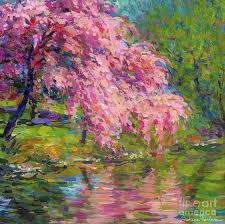 cherry blossom tree art fine art america