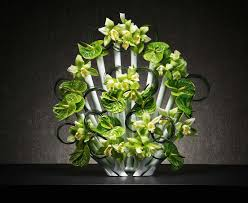 Test Tube Flower Vases Aprilli U0027s Peacock Vase Lets You Stylishly Arrange Your Flowers In