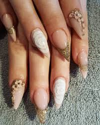 nail art designs on acrylic nails best nail 2017 leopard fimo