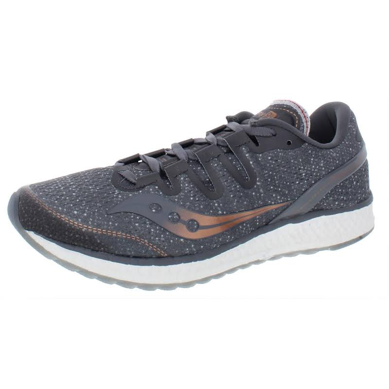 Saucony Freedom ISO Mesh Low-Top Running Shoes Gray 6.5 Medium (B,M)