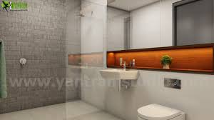 artstation innovative 3d bathroom architectural interior