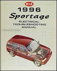 1996 kia sportage electrical troubleshooting manual