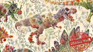 flowers fruit neural network merges dinosaurs with flowers fruit and other