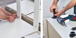 montage cuisine brico depot comment monter les élements bas d une cuisine en kit réponses d
