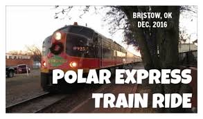 polar express ride bristow ok dec 2015 lost footage youtube