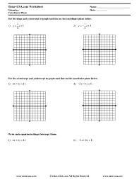worksheet slope intercept form point slope form lines in a