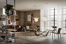 Wohnzimmer Mit Bar Skorpio Esstische Von Cattelan Italia Architonic