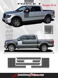 Classic Ford Truck Decals - 2009 2014 and 2015 2017 ford f 150 force 1 one factory style