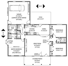 country style house plan 3 beds 2 50 baths 1698 sq ft plan 11 108