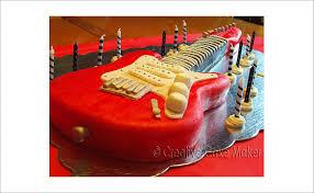 17 awsome guitar cake templates u0026 designs free u0026 premium templates