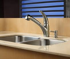 Stainless Steel Kitchen Faucets Pull Out Kitchen Faucet Set Kraususa Com